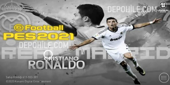 PES 2021 Mobile Cristiano Ronaldo Yaması İndir Tanıtım