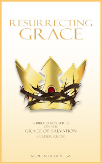 Book Cover: Image of crown of thorns wrapped around a glorious golden crown
