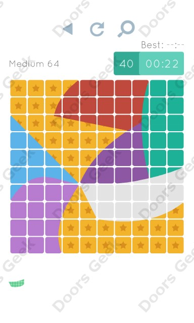 Cheats, Walkthrough for Blocks and Shapes Medium Level 64