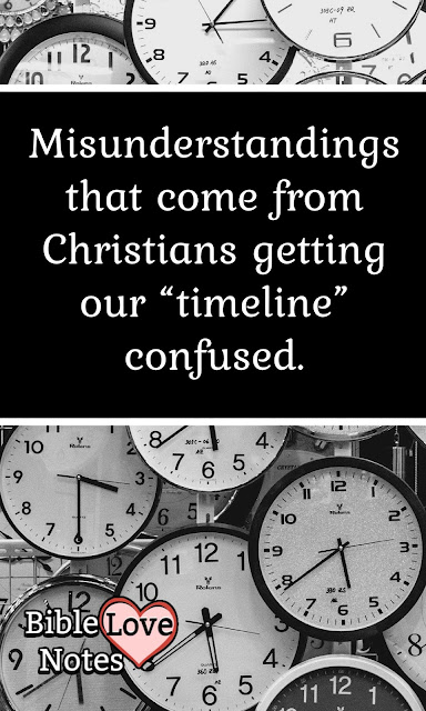 Check out these areas where Christians get confused when they don't understand God's Timeline.