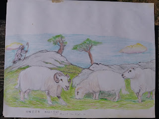 Sheep and Shepherd by Ahgamen Keyboa.