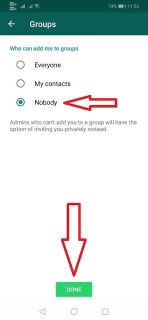 Cara Mencegah Orang Lain Menambahkan Anda Ke Group WhatsApp Sembarangan