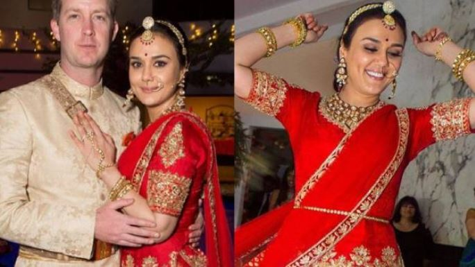preity zinta married for money