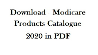 Download - Modicare Products Catalogue