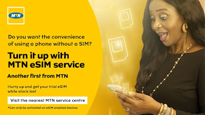 mtn-launches-eSIM-service-in-nigeria