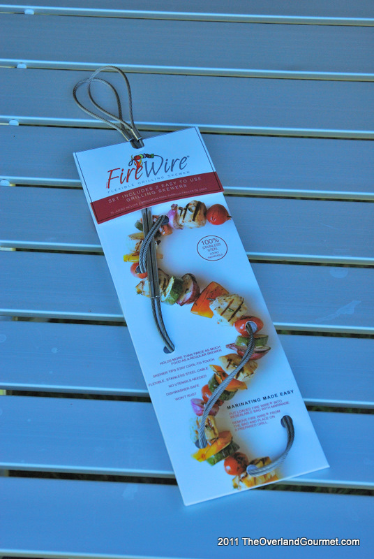 Review of Fire Wire Flexible Skewers