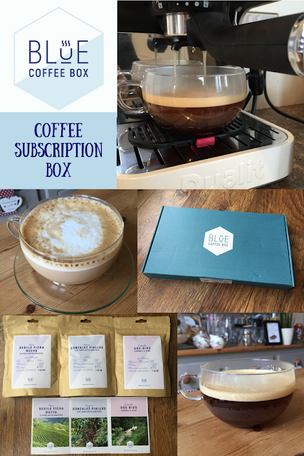 Blue Coffee Box Subscription service: Review by Mrs Bishop