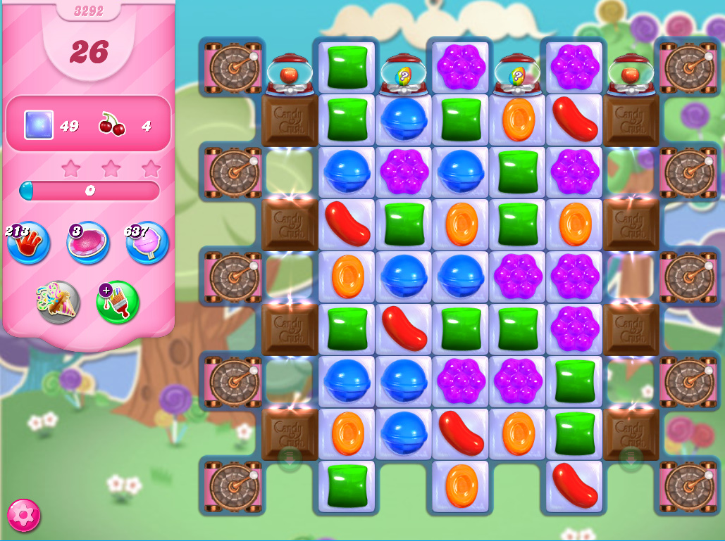 Candy Crush Saga level 3292