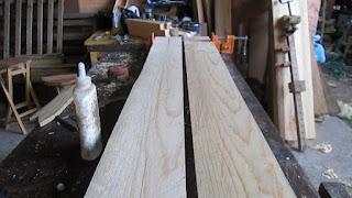Cantos de las tablas de madera