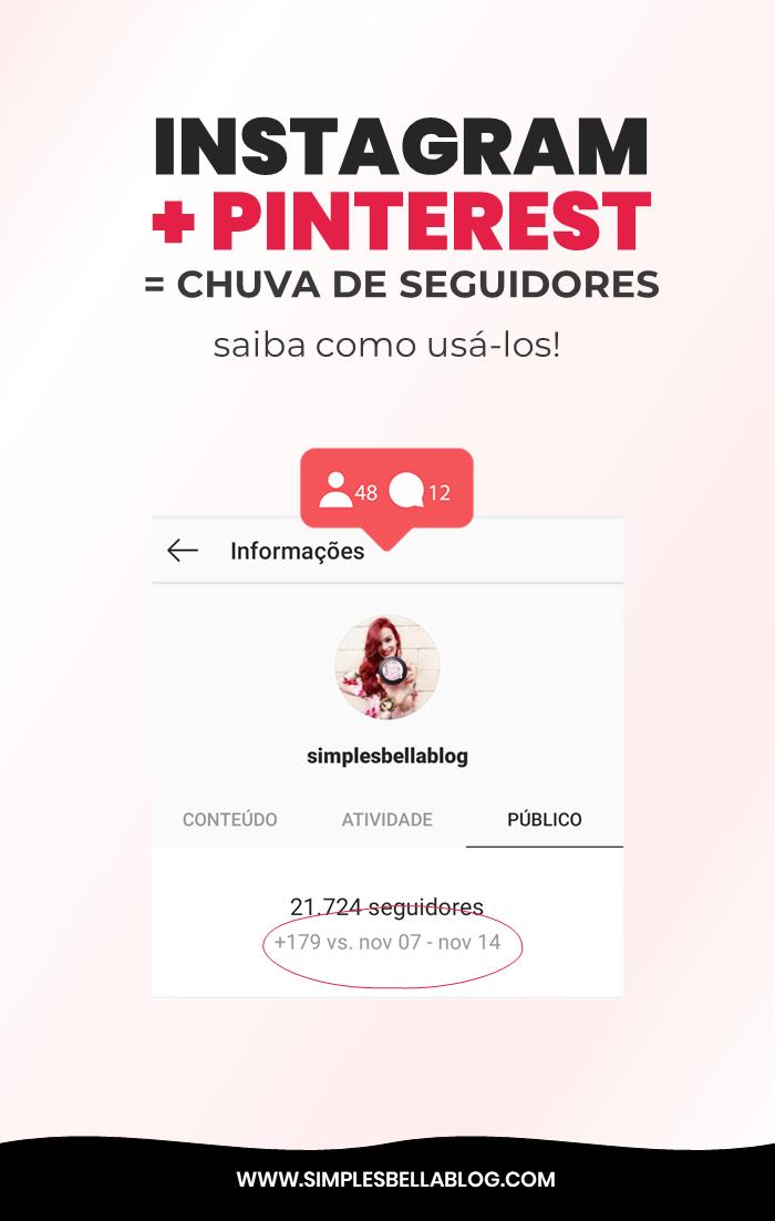 Como ganhar seguidores no Instagram em 2020 usando o Pinterest