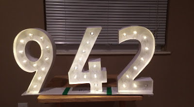 Completed Lighted Number Puzzle