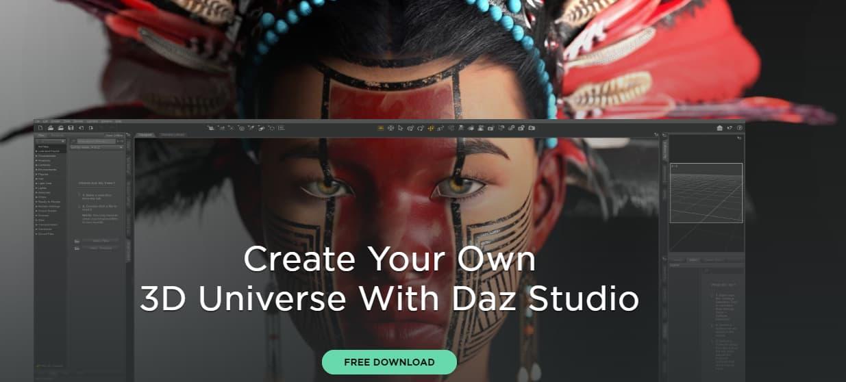 تحميل-برنامج-داز-ثري-دي-DAZ-3D