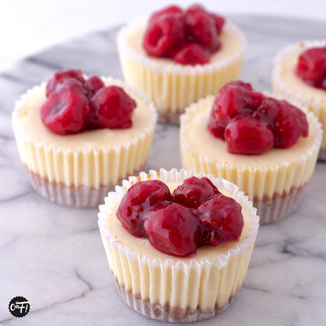 Minis cheesecakes