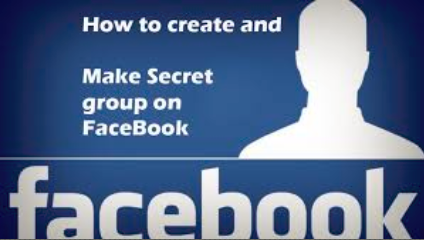 how to create a secret group in facebook