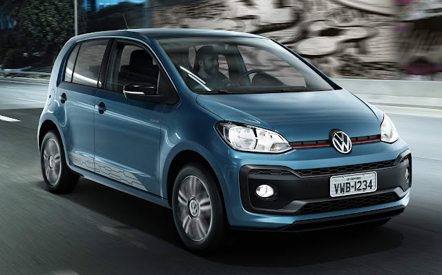 Novo Volkswagen up! 2018