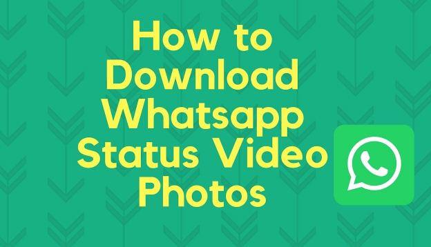 تنزيل, حالة, WhatsApp, بأربع, طرق