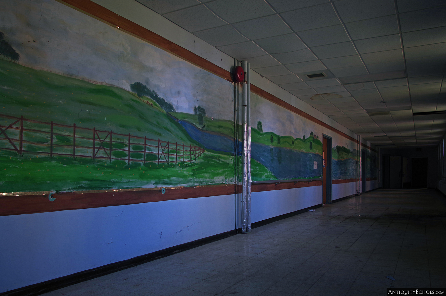 Allentown State Hospital - Mural