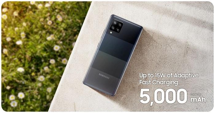 Samsung Galaxy A42 5G Battery Life
