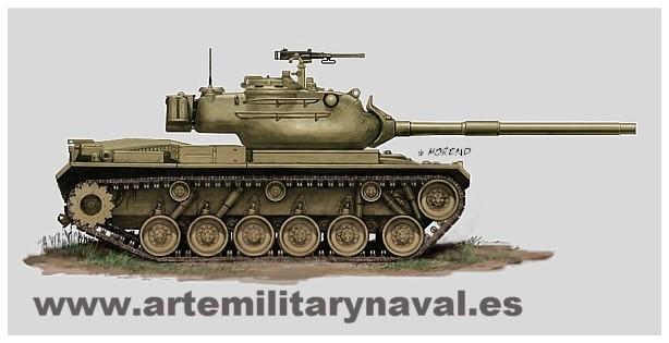 M-47E Ejército español