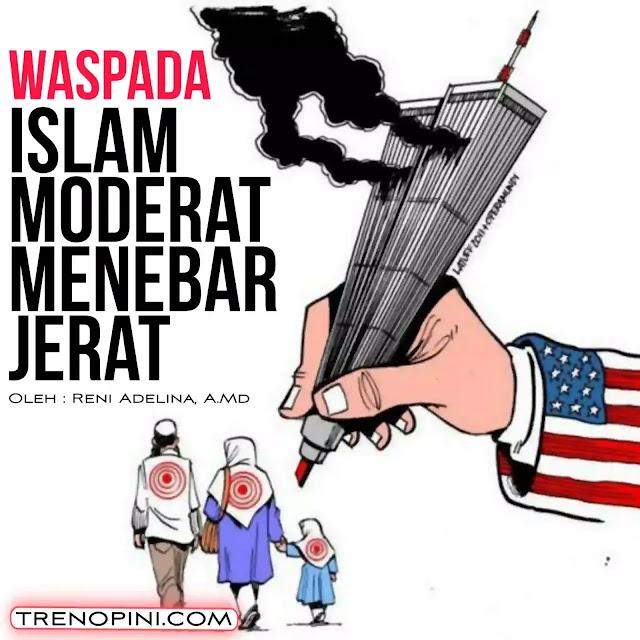 Pemahaman Islam moderat jelas berbahaya bagi generasi Islam karena bukan bersumber dari syariat Islam yang sesungguhnya. Bahkan bisa menanamkan perspektif negatif terhada ajaran Islam dan sejarah Islam yang telah ada. Sehingga memunculkan kebencian akan syariat Islam dan menimbulkan permusuhan sesama muslim karena berbeda pandangan dan pemahaman
