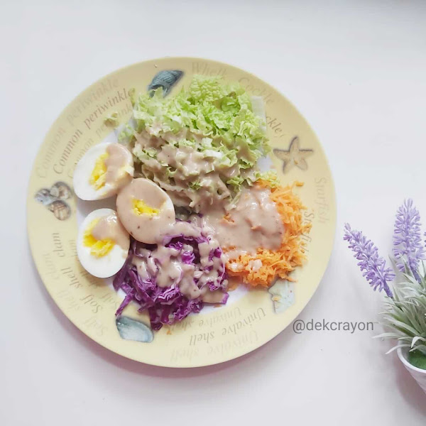 Resep Salad Sayur Dressing Wijen Homemade Favorit Keluarga Crayon