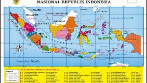 Jumalah Provinsi Kota Kabupaten se indonesia