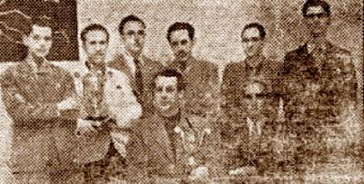 Los vencedores del Trofeo Puig i Puig 1941