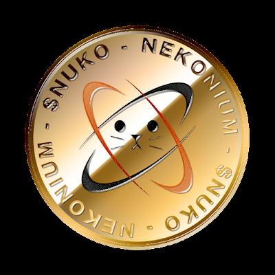 ネコニウム(Nekonium)のフリー素材(金貨ver)