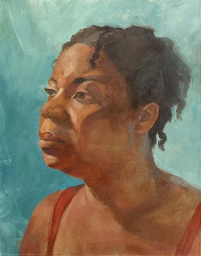 Фигуративный художник. Alia E. El-Bermani