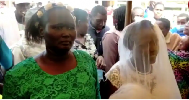 West Pokot Woman who married holy spirit photo