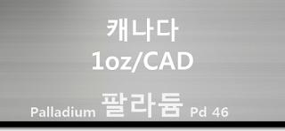 오늘 캐나다 팔라듐 1 온스(oz) 시세 : 99.95 팔라듐 1 온스 (1oz) 시세 실시간 그래프 (1oz/CAD 캐나다 달러)