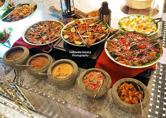Traditional Kampung Side Dishes & Assorted Sambals