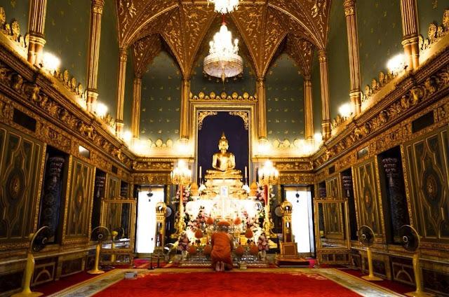WISATA KE THAILAND, Hidden Gem, Wat Ratchabophit
