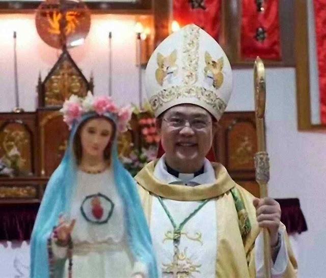 Mons Pedro Shao Zhumin, obispo de Wenzhou (Zhejiang), sequestrado pela polícia.