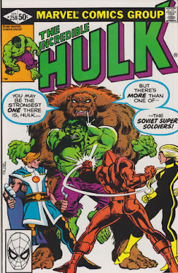 Incredible Hulk #258, The Soviet Super-Soldiers