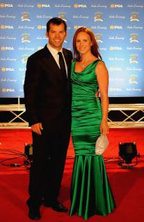 Paul Casey With Ex Wife Jocelyn Hefner During Happier Times