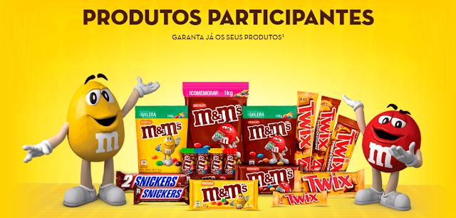 Promoção M&M's, Snicker's e Twix - Festival do Amendoim