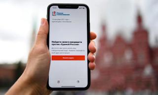 Russian Election App