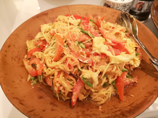 Durian Papaya Salad