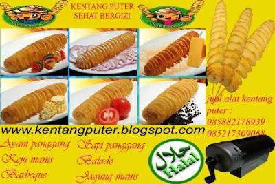 paket usaha kentang puter goreng renyah