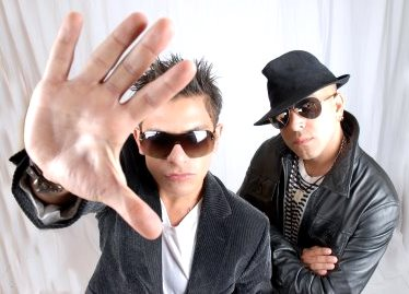 Foto de Franco y Oscarcito con lentes
