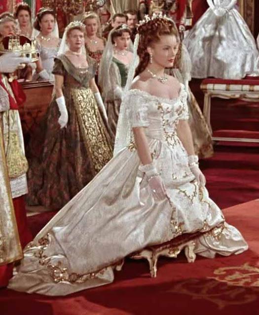 Cena da coroação em Sissi 1956