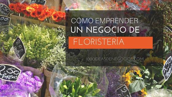 negocio de floristería