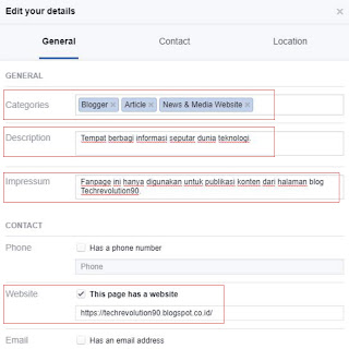 Cara Optimalisasi Akun Facebook Page