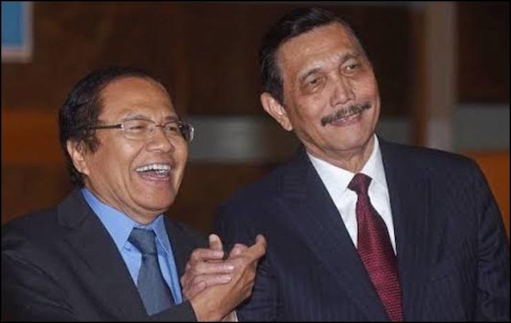 Debat Rizal Ramli Vs Luhut Binsar Panjaitan,