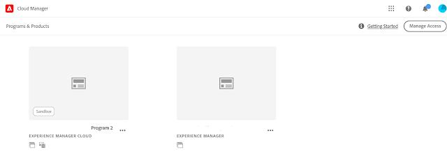 AEM as a Cloud Service Sandbox