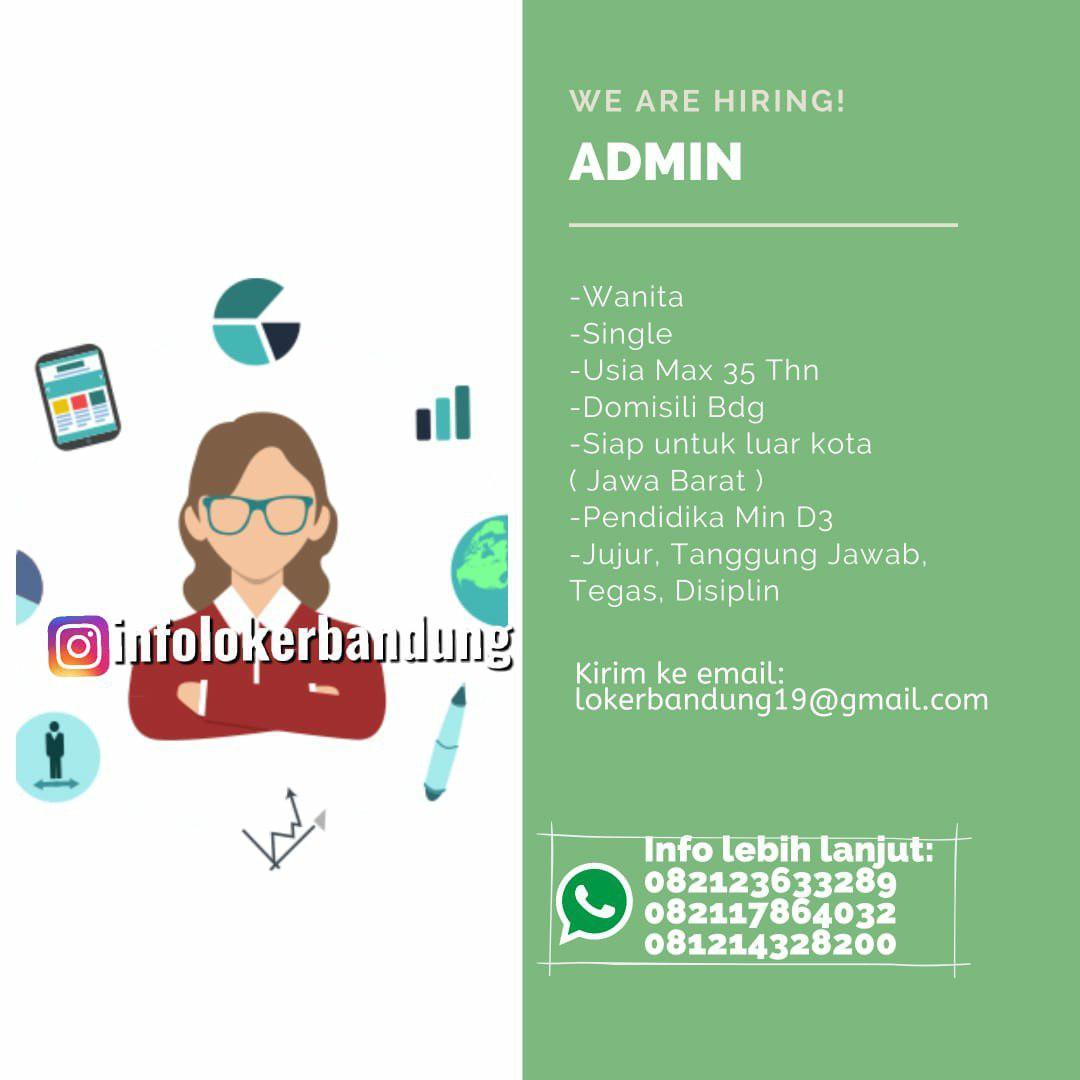 Lowongan Kerja Admin CV Arthagraha Bandung November 2019