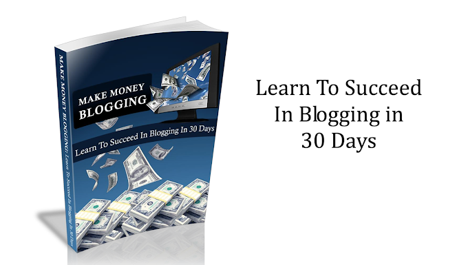 MAKE MONEY BLOGGING Learn To Succeed In Blogging in 30 Days