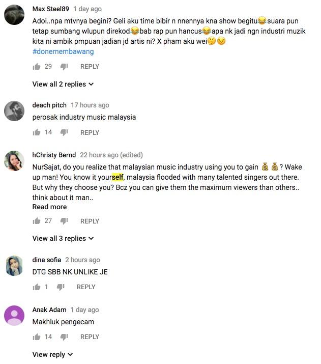 Komen Netizen Tentang Lagu 'Makhluk Penggoda' Nur Sajat Buat Kami Pecah Perut