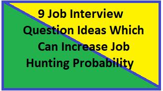 Job Interview Question Ideas